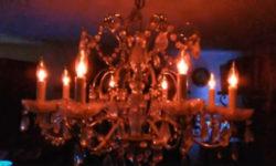 spooky chandelier