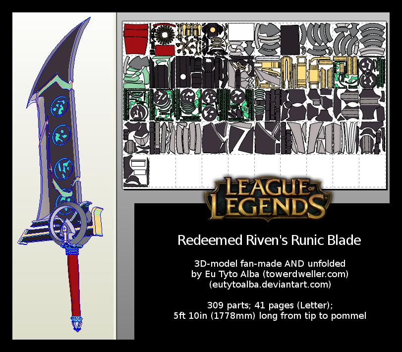Redeemed Riven's Runic Blade
